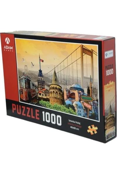 Adam Games 1000 Parça İstanbul Kolaj Puzzle