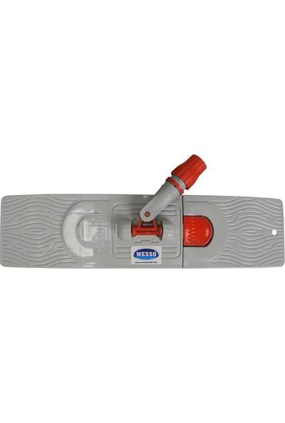 Swab Nemli Mop Orta Boy Takım Temizlik Seti ( 50 cm Nemli Mop + 50 cm Palet + Metal Sap)