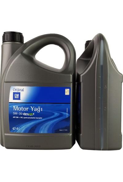 Gm 5W30 Motor Yağı 4 lt Dexos 1 - TRL510000021