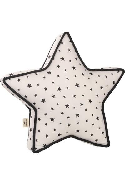 Dona De Miel Kelly Star Beyaz Yıldız Dekoratif Yastık