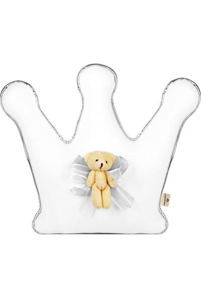 Dona De Miel Elvis Silver Taç Dekoratif Yastık