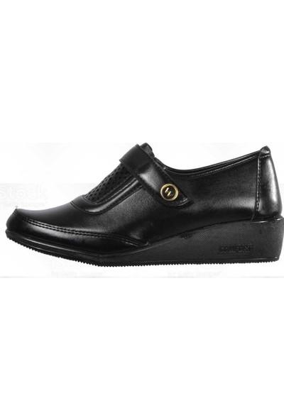 Wanetti Cmf-348 Siyah Kadın Günlük Ayakkabı