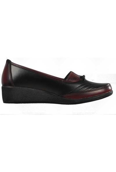 Wanetti Cmf-353 Bordo Kadın Günlük Ayakkabı