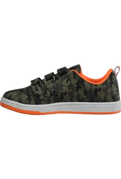 Cool 19-K25 Petrol-Turuncu Çocuk Spor Ayakkabı