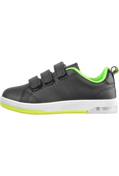 Cool 19-K25 Siyah F.Sarı Çocuk Spor Ayakkabı