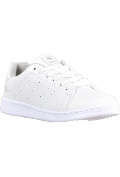 Bestof 041 Beyaz Erkek Spor Ayakkabı