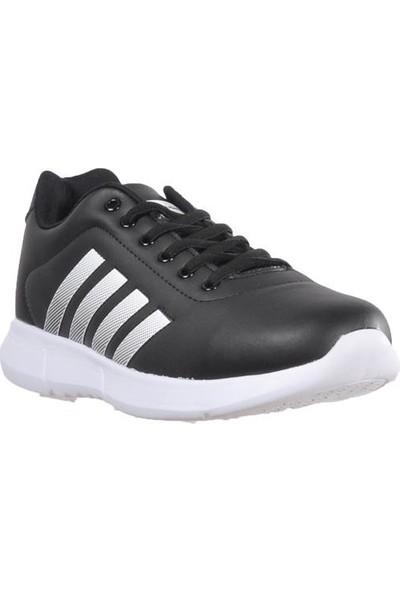 Bestof 047 Siyah-Beyaz Erkek Spor Ayakkabı