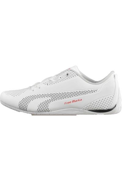 Free Marka 6040 Beyaz Erkek Spor Ayakkabı