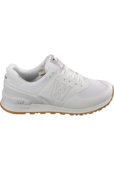 Walkway 523 Beyaz Erkek Spor Ayakkabı