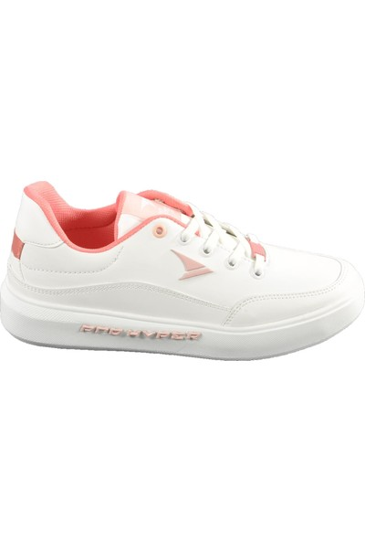 Pro Hyper 109 Beyaz-Pembe Spor Ayakkabı