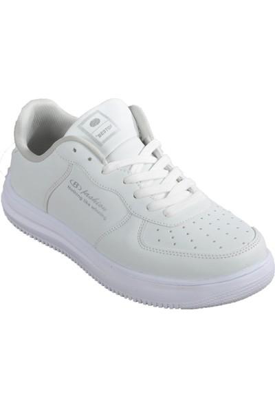 Bestof 042 Beyaz Spor Ayakkabı