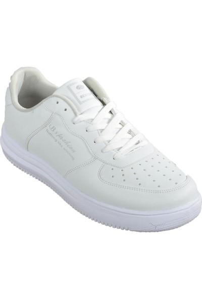 Bestof 042 Beyaz Erkek Spor Ayakkabı