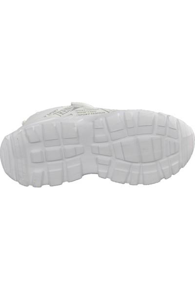 Cosby 306 Beyaz Çocuk Spor Ayakkabı