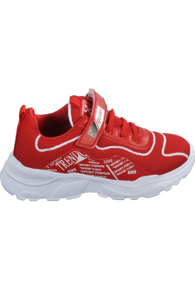 Cosby 306 Kırmızı Çocuk Spor Ayakakkabı