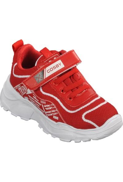 Cosby 306 Kırmızı Çocuk Spor Ayakkabı