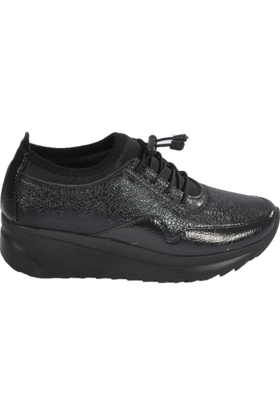 Wanetti 606 Siyah Kadın Spor Ayakkabı