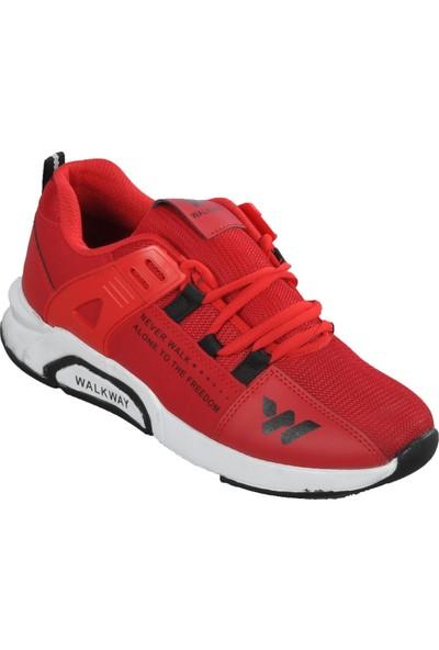 Walkway 1797 Kırmızı Erkek Spor Ayakkabı