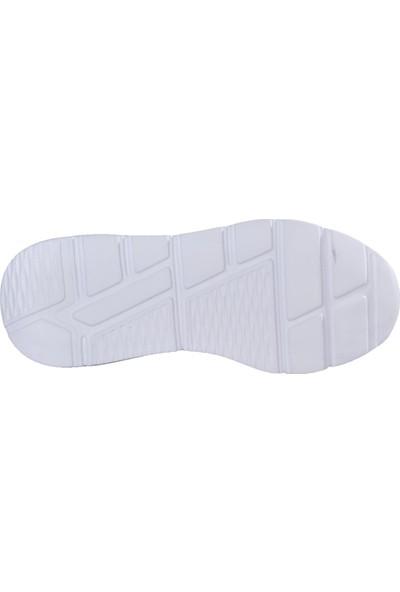 Bestof 048 Siyah-Beyaz Erkek Spor Ayakkabı