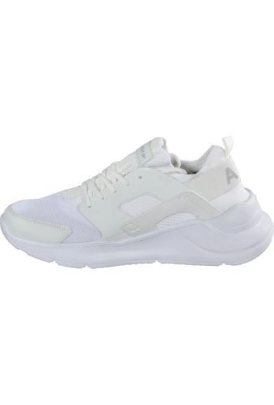 Bestof 048 Beyaz-Beyaz Erkek Spor Ayakkabı