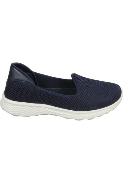 Wanetti Sck-810 Lacivert Kadın Spor Ayakkabı