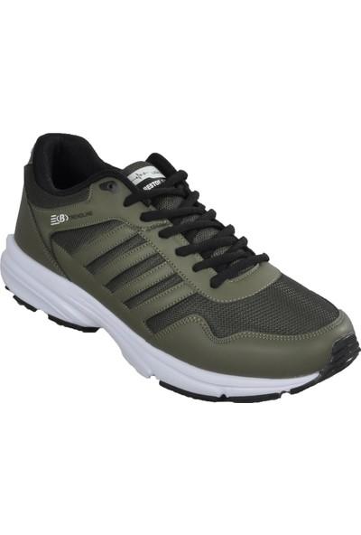 Bestof Bst-054 Haki-Beyaz Erkek Spor Ayakkabı