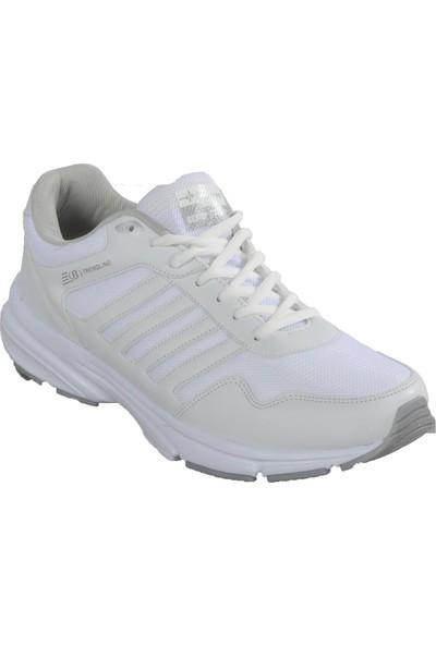 Bestof Bst-054 Beyaz-Beyaz Erkek Spor Ayakkabı