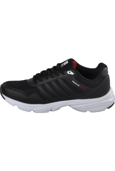 Bestof Bst-054 Siyah-Beyaz Erkek Spor Ayakkabı