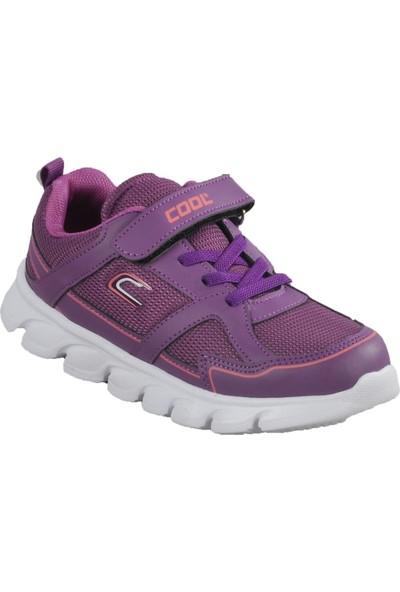 Cool 20-S03 Mor Çocuk Spor Ayakkabı