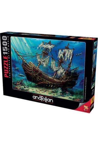 Anatolian Perre Puzzle 1500 Parça Batık Gemi