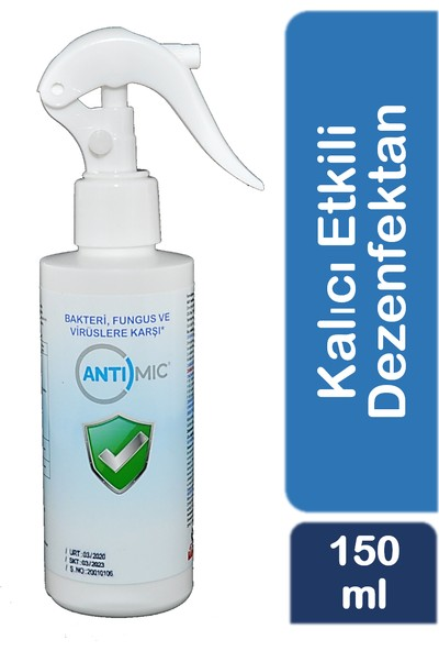 Antimic Yüzey Dezenfektanı 150 ml