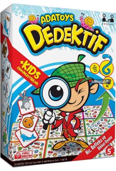 Adatoys Dedektif + Kids Zenginleştirilmiş Hız Refleks ve Dikkat Oyunu