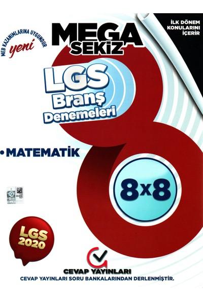 Cevap Yayınları 8. Sınıf LGS Ilk 1. Birinci Dönem Matematik Branş Denemeleri