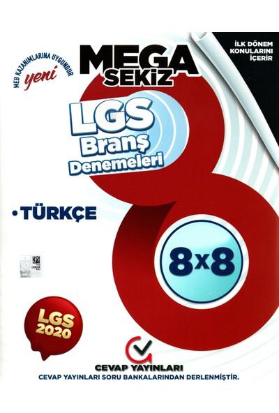 Cevap Yayınları 8. Sınıf LGS Ilk 1. Birinci Dönem Türkçe Branş Denemeleri