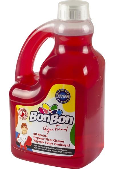 Bonbon Kırmızı Ph Neutral Hijyenik Yüzey Temizleyici 3750 ml