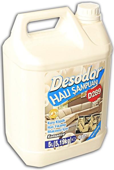 Desodor D289 Halı Şampuanı Kuru Köpük 5 lt