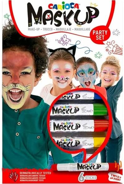 Carioca Renkli Yüz Boyası 6'lı