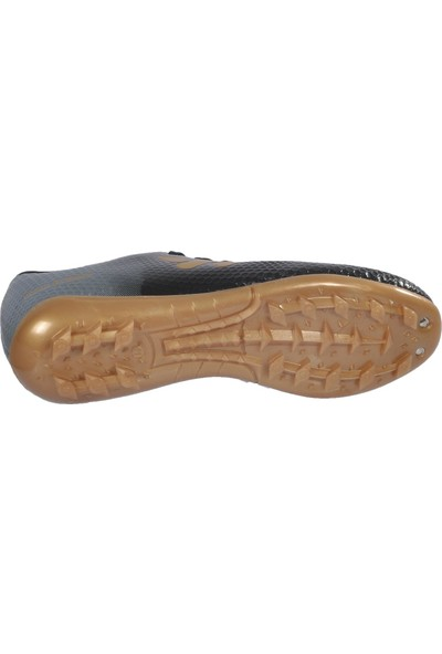 Walkway 023 Siyah-Altın Erkek Halı Saha Ayakkabı