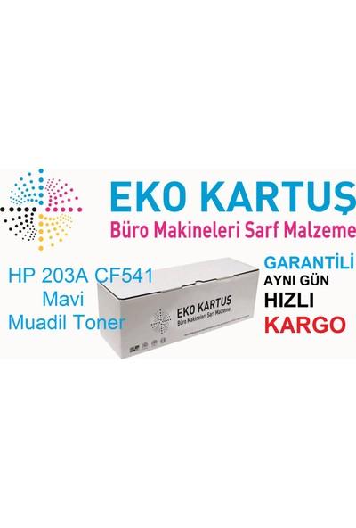 Eko Kartuş Hp 203A CF541 Muadil Toner 1400 Sayfa Mavi