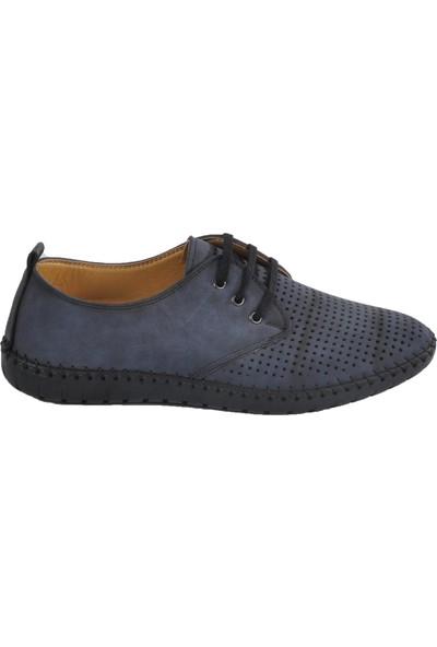 Dezen 12999 Lacivert Erkek Günlük Ayakkabı Bağlı
