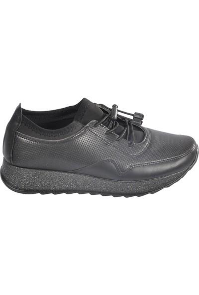 Wanetti Spr-604 Siyah Kadın Ayakkabı