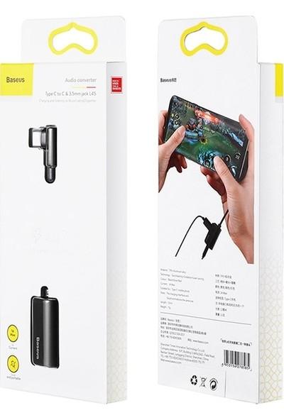 Baseus L45 USB Type-C 3.5 mm Kulaklık ve Şarj Çevirici Kablo