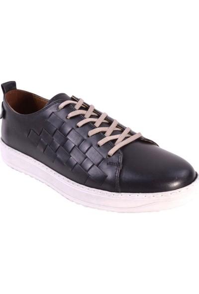 Hammer Jack 422 1100-M Deri Erkek Ayakkabı Siyah