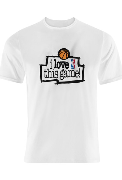 Starter I Love This Game Nba T-Shirt