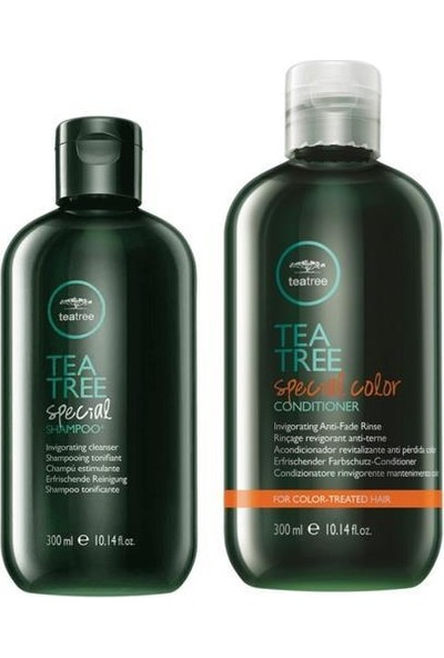Paul Mitchell Tea Tree Special Şampuan 300 ml + Special Color Saç Krem 300 ml