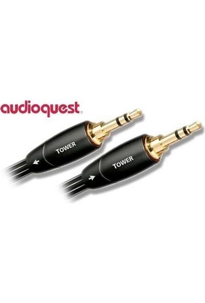 Audioquest Tower 3,5mm - 3,5mm Audio Aux Kablo - 1.5m
