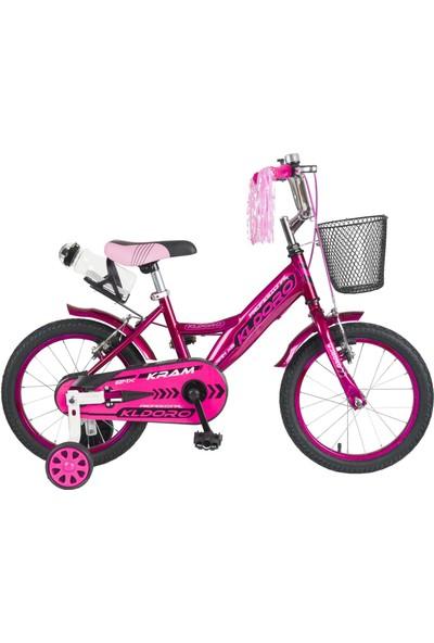 Kldoro KD-016 Siyah Lastik 16 Jant Bisiklet Çocuk Bisikleti