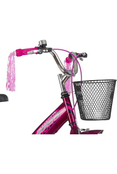 Kldoro KD-018 Beyaz Lastik 20 Jant Bisiklet Çocuk Bisikleti