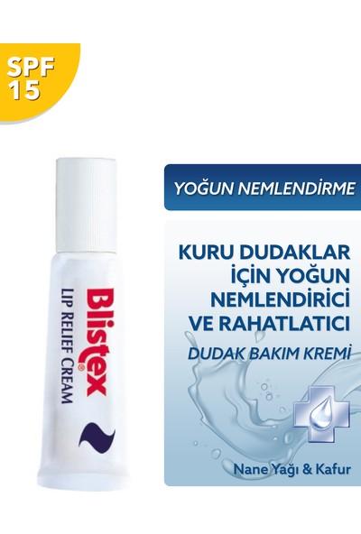 Blistex Lip Relief Cream - Çatlak Dudak Acil Çözüm