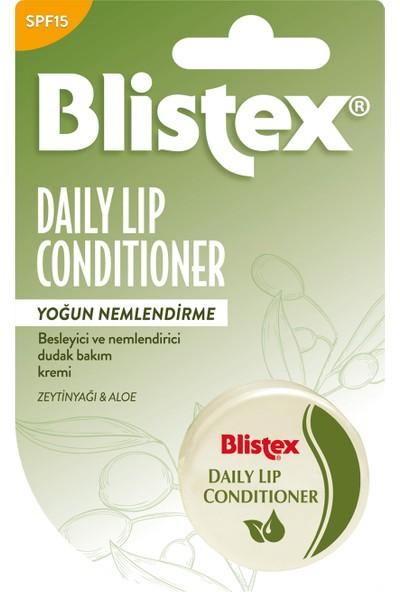Blistex Daily Lip Conditioner Kuruyan Dudaklara Yoğun Nemlendirici Günlük Bakım Spf 15