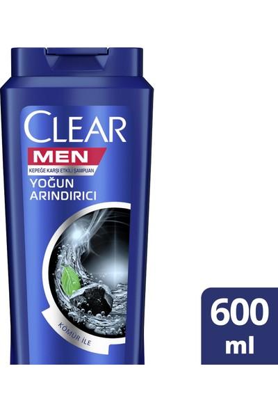 Clear Men Yoğun Arındırıcı Şampuan 600 ml